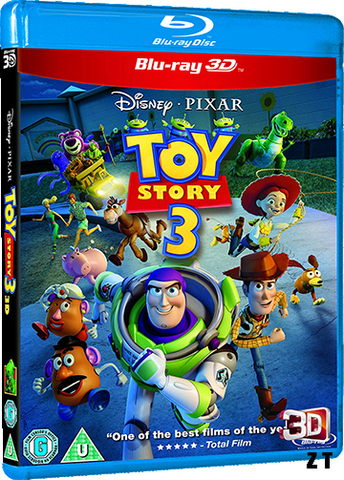 Toy Story 3 Blu-Ray 3D TrueFrench