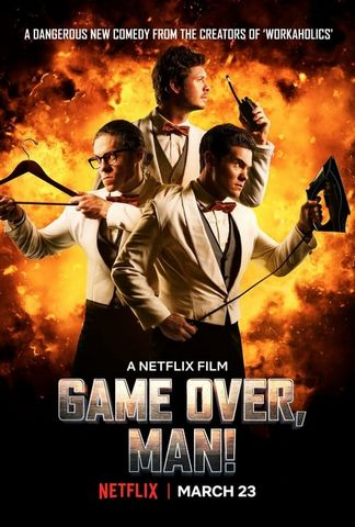 Game Over, Man! Webrip VOSTFR